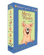 Cover-Bild zu Mercy Watson Boxed Set: Adventures of a Porcine Wonder von DiCamillo, Kate