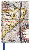 Cover-Bild zu Antique Maps 2021 - Buchkalender - Taschenkalender - 10x15