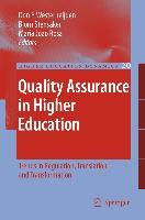 Cover-Bild zu Westerheijden, Don F. (Hrsg.): Quality Assurance in Higher Education