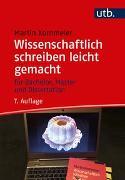 Cover-Bild zu Wissenschaftlich schreiben leicht gemacht von Kornmeier, Martin