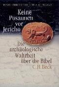 Cover-Bild zu Keine Posaunen vor Jericho von Finkelstein, Israel