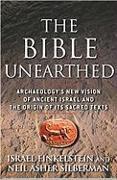 Cover-Bild zu The Bible Unearthed von Finkelstein, Israel