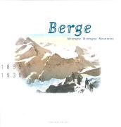 Cover-Bild zu Buch Berge Photochrom von Walter, Marc (Idee von)