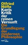 Cover-Bild zu Kants Kritik der reinen Vernunft von Höffe, Otfried