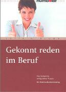 Cover-Bild zu Gekonnt reden im Beruf von Blume, Jutta D.