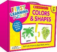 Cover-Bild zu First Learning Puzzles: Colors & Shapes