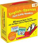 Cover-Bild zu English-Spanish First Little Readers: Guided Reading Level D (Parent Pack): 25 Bilingual Books That Are Just the Right Level for Beginning Readers