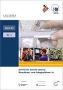 Cover-Bild zu Schritt für Schritt zum/zur Maschinen- und Anlagenführer/-in