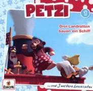 Cover-Bild zu Petzi 01. Drei Landratten bauen ein Schiff