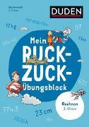 Cover-Bild zu Heilig, Silke: Mein Ruckzuck-Übungsblock Rechnen 3. Klasse