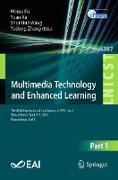 Cover-Bild zu Multimedia Technology and Enhanced Learning (eBook) von Fu, Weina (Hrsg.)