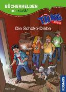 Cover-Bild zu TKKG Junior, Bücherhelden 1. Klasse, Die Schoko-Diebe von Vogel, Kirsten