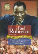Cover-Bild zu Grote, Joanne: Paul Robeson: The Great Depression and World War II 1929-1945