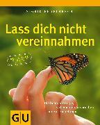 Cover-Bild zu Lass Dich nicht vereinnahmen (eBook) von Engelbrecht, Sigrid