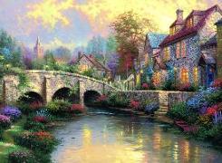 Cover-Bild zu Bei der alten Brücke von Kinkade, Thomas