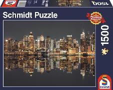 Cover-Bild zu New York Skyline bei Nacht 1