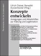 Cover-Bild zu Konzepte entwickeln von Deinet, Ulrich (Hrsg.)