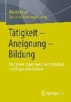 Cover-Bild zu Tätigkeit - Aneignung - Bildung von Deinet, Ulrich (Hrsg.)