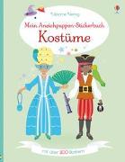 Cover-Bild zu Bone, Emily: Mein Anziehpuppen-Stickerbuch: Kostüme