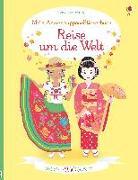 Cover-Bild zu Bone, Emily: Mein Anziehpuppen-Stickerbuch: Reise um die Welt
