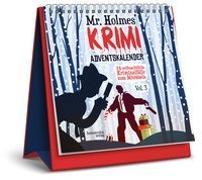 Cover-Bild zu Mr. Holmes Krimi-Adventskalender Vol. 3 von Krömer, Philip