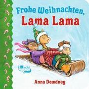Cover-Bild zu Dewdney, Anna: Frohe Weihnachten, Lama Lama