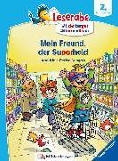 Cover-Bild zu Kiel, Anja: Leserabe - Mein Freund, der Superheld