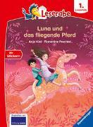 Cover-Bild zu Kiel, Anja: Leserabe - 1. Lesestufe: Luna und das fliegende Pferd
