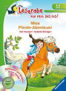 Cover-Bild zu Neudert, Cee: Mias Pferde-Abenteuer - Leserabe ab 1. Klasse - Erstlesebuch für Kinder ab 6 Jahren