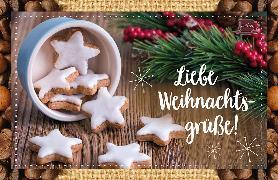 Cover-Bild zu Liebe Weihnachtsgrüße