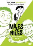 Cover-Bild zu John, Jory: Miles & Niles - Jetzt wird's wild