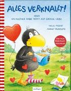 Cover-Bild zu Moost, Nele: Der kleine Rabe Socke: Alles verknallt! oder Ein kleiner Rabe trifft auf große Liebe