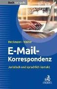 Cover-Bild zu E-Mail-Korrespondenz von Beckmann, Edmund