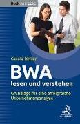 Cover-Bild zu BWA lesen und verstehen von Rinker, Carola