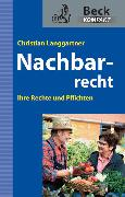 Cover-Bild zu Nachbarrecht von Langgartner, Christian