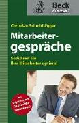 Cover-Bild zu Mitarbeitergespräche führen von Schmid-Egger, Christian
