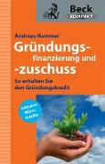 Cover-Bild zu Grundüngsfinanzierung und -zuschuss von Hammer, Andreas