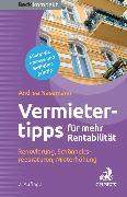 Cover-Bild zu Die besten Vermietertipps für mehr Rentabilität von Nasemann, Andrea