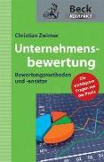 Cover-Bild zu Unternehmensbewertung von Zwirner, Christian