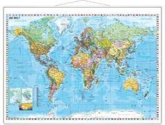 Weltkarte deutsch Großformat. 1:33'000'000 von Stiefel, Heinrich