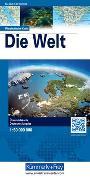 Welt physikalisch. 1:50'000'000 von Hallwag Kümmerly+Frey AG (Hrsg.)