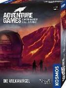 Cover-Bild zu Adventure Games - Die Vulkaninsel