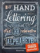 Handlettering. Die 33 schönsten Alphabete mit Rahmen, Ornamenten und Bordüren von Pautner, Norbert