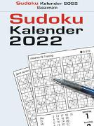 Sudokukalender 2022. Der beliebte Abreißkalender mit 800 Zahlenrätseln von Krüger, Eberhard