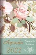 Cover-Bild zu 2022 Agenda - Tesoros de Sabiduría - Rosas Rosados: Con Un Pensamiento Motivador O Un Versículo de la Biblia Para Cada Día del Año von Escribano, Jon Gabriel