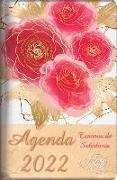 Cover-Bild zu 2022 Agenda - Tesoros de Sabiduría - Rosas Rojas: Con Un Pensamiento Motivador O Un Versículo de la Biblia Para Cada Día del Año von Escribano, Jon Gabriel