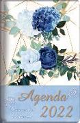 Cover-Bild zu 2022 Agenda - Tesoros de Sabiduría - Rosas Azules Reales: Con Un Pensamiento Motivador O Un Versículo de la Biblia Para Cada Día del Año von Escribano, Jon Gabriel