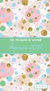 Cover-Bild zu The Treasure of Wisdom - 2022 Pocket Planner - Bubbles and Gold - Green: An 18 Month Planner with Inspirational Bible Verses von Escribano, Jon Gabriel