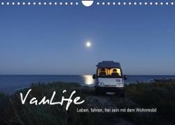Cover-Bild zu Vanlife - Leben, fahren, frei sein mit dem Wohnmobil (Wandkalender 2022 DIN A4 quer) von Flachmann, Susanne