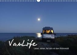 Cover-Bild zu Vanlife - Leben, fahren, frei sein mit dem Wohnmobil (Wandkalender 2022 DIN A3 quer) von Flachmann, Susanne